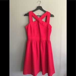 NWT Ya Los Angeles Red Cross Dress